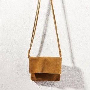 Urban Outfitters Reba suede crossbody bag